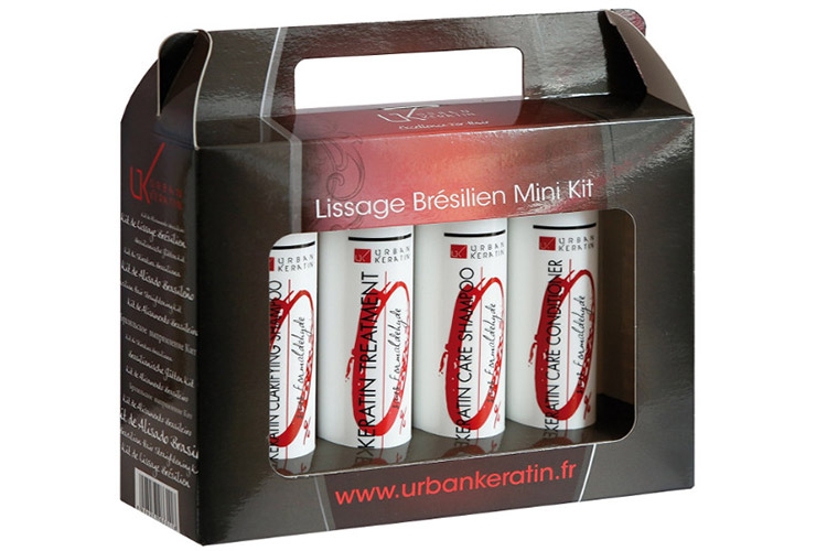 Urban Keratin kit de lissage brésilien